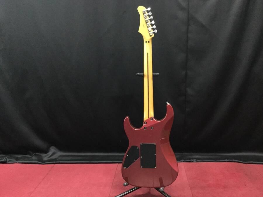 GRECO グレコ ディンキータイプ エレキギター シリアルNo.2 3933 紫系★現状品_画像5