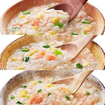 新品アマノフーズ フリーズドライ 雑炊 中華粥 5種類 15食 小袋ねぎ1袋 セットT0C5_画像3