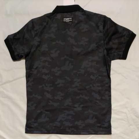 新品正規品 マスターバニー パーリーゲイツ サイズ3 プライムフレックス 高機能 ポロシャツ カモフラ 21モデル シワになりにくい_画像8
