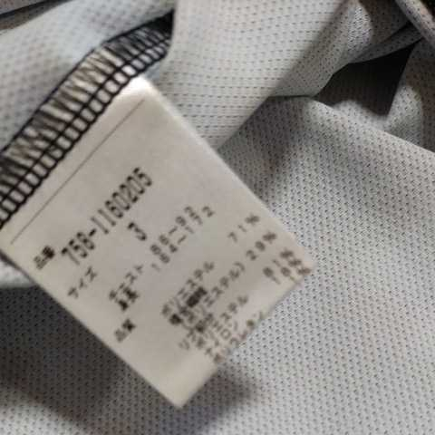 新品正規品 マスターバニー パーリーゲイツ サイズ3 プライムフレックス 高機能 ポロシャツ カモフラ 21モデル シワになりにくい_画像6