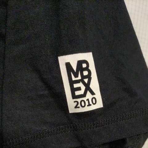 美品正規品 マスターバニー パーリーゲイツ サイズ4 Tシャツ ブラック MBEX トレーニングウエア 送料無料_画像7
