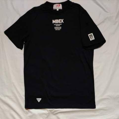 美品正規品 マスターバニー パーリーゲイツ サイズ4 Tシャツ ブラック MBEX トレーニングウエア 送料無料_画像2