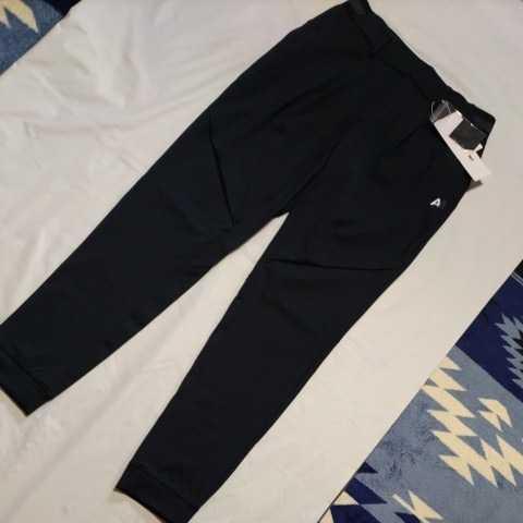 新品正規品 マスターバニー パーリーゲイツ サイズ1 21モデルの最新作 ジョガーパンツ ジャージ スウェット ブラック 送料無料_画像5