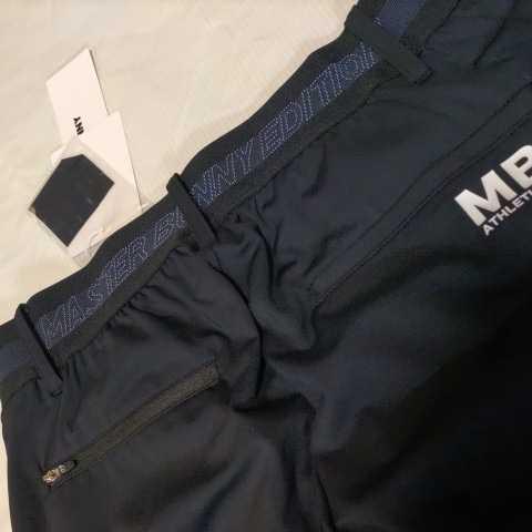 新品正規品 マスターバニー パーリーゲイツ サイズ1 21モデルの最新作 ジョガーパンツ ジャージ スウェット ブラック 送料無料_画像4