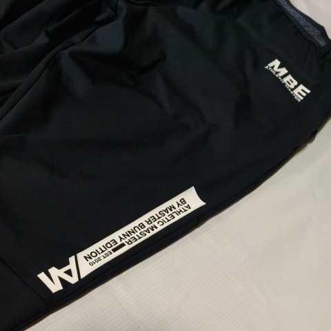 新品正規品 マスターバニー パーリーゲイツ サイズ1 21モデルの最新作 ジョガーパンツ ジャージ スウェット ブラック 送料無料_画像2