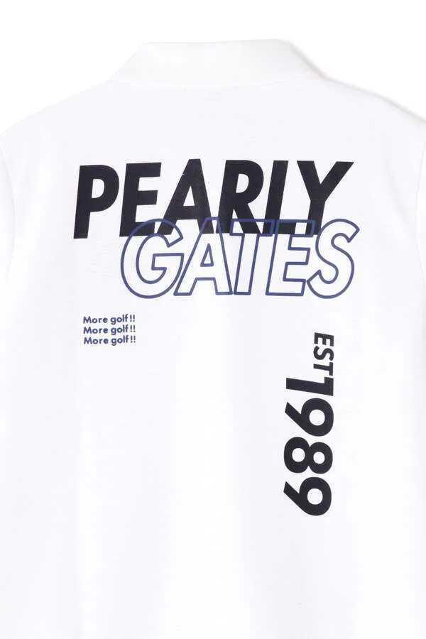 超美品正規品 試着のみ パーリーゲイツ サイズ6 21モデルの最新作 完売モデル ホワイト 高機能 ポロシャツ 送料無料_画像5