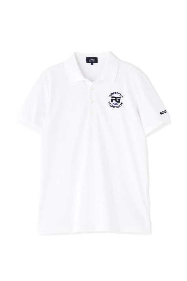 超美品正規品 試着のみ パーリーゲイツ サイズ6 21モデルの最新作 完売モデル ホワイト 高機能 ポロシャツ 送料無料_画像4