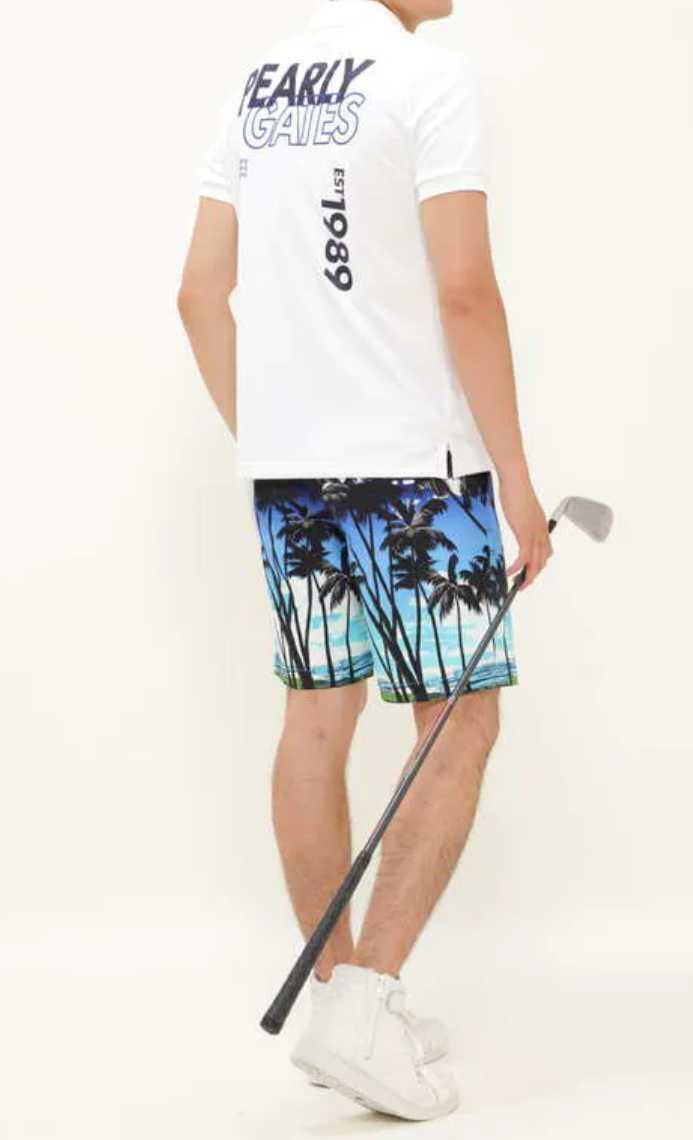 超美品正規品 試着のみ パーリーゲイツ サイズ6 21モデルの最新作 完売モデル ホワイト 高機能 ポロシャツ 送料無料_画像7