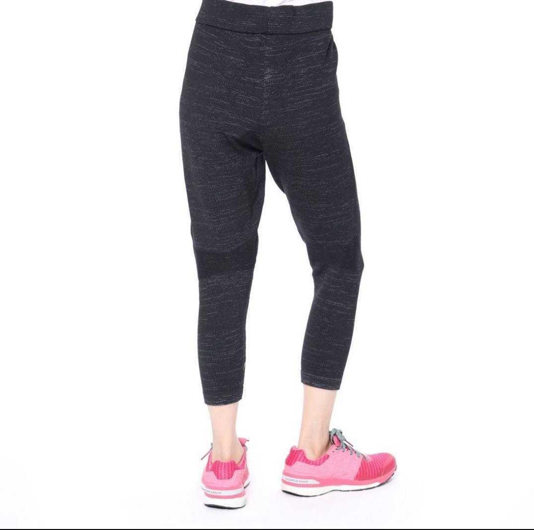 新品*adidas ニットパンツ トレーニングパンツ Mサイズ ブラック スポーツウェアトレーニングウェアウォーキングウェアランニングウェア