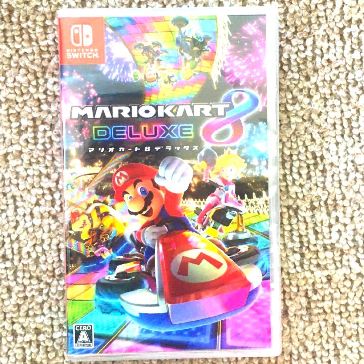 任天堂 Nintendo Switchソフト マリオカート8 デラックス マリオカート switch 新品未使用未開封