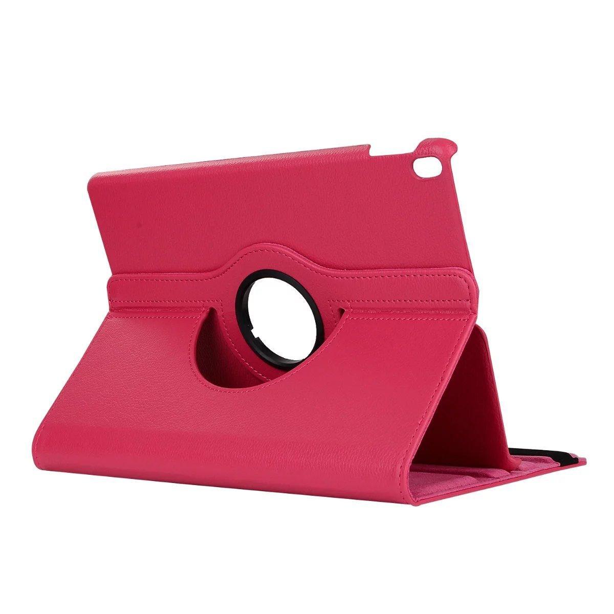 iPad mini4 2019年型 ケース (ピンク色) mini5 合革レザー mini4 360回転 スタンドケース 耐衝撃多角度 シンプル アイパッド保護カバー_画像4