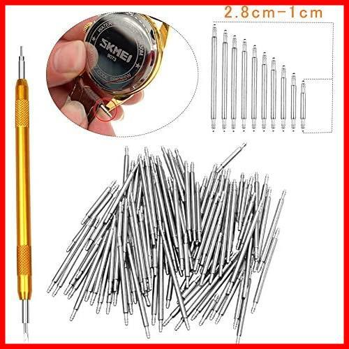 時計工具 時計修理 電池交換 腕時計ベルト調整 バンド調整 時計道具セット 時計用工具 収納便利 腕時計修理工具キット_画像8