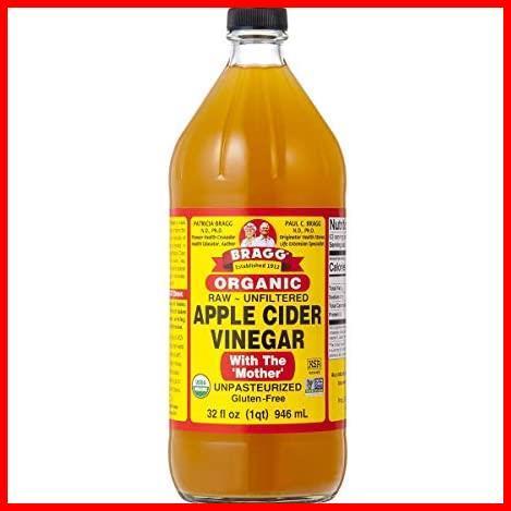 2D 新品 【日本正規品】りんご酢 アップルサイダービネガー 新品 迅速対応 946ml オーガニック 新品Bragg 1T_画像1
