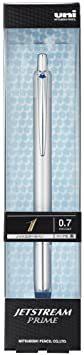 シルバー 0.7mm 三菱鉛筆 油性ボールペン ジェットストリームプライム 0.7 シルバー SXN220007.26_画像2