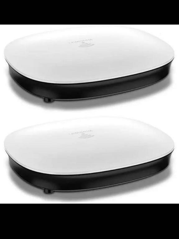 メッシュWi-Fiシステム 無線LANルーター 2ユニットセット デュアルバンド 日本語説明書付き 無線LAN メッシュWiFiシステム