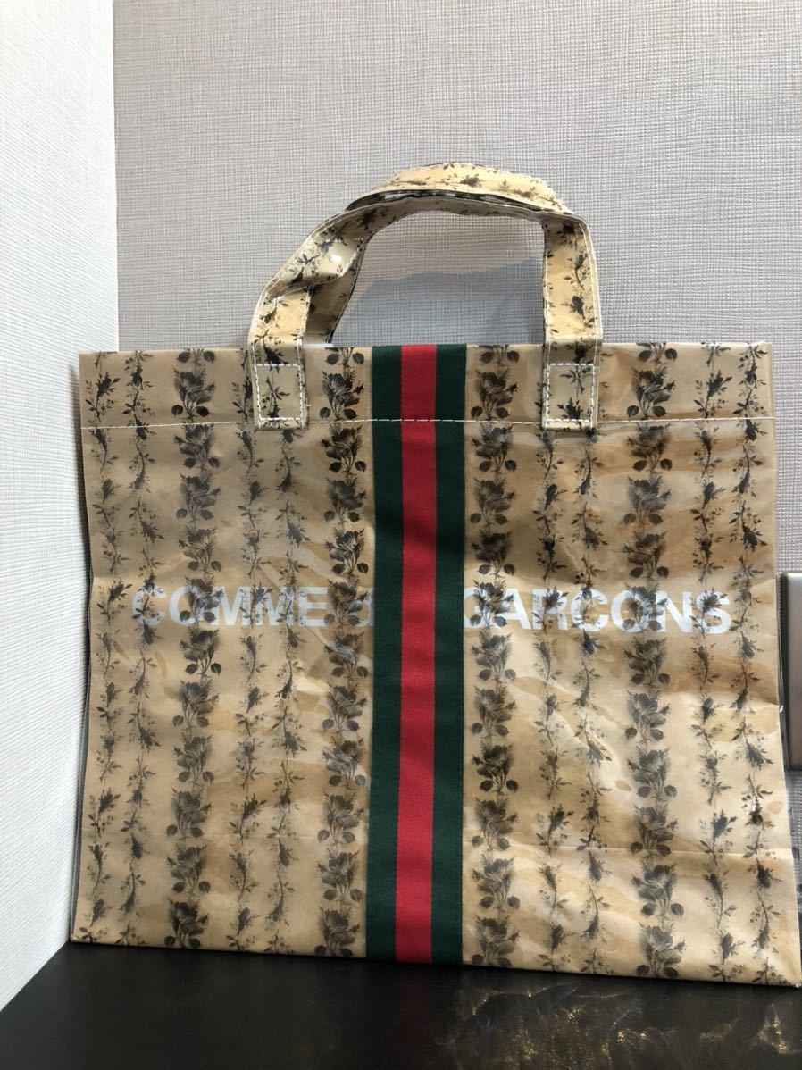 新品 GUCCI グッチ COMME des GARCONS コムデギャルソン トートバッグ かばん 鞄