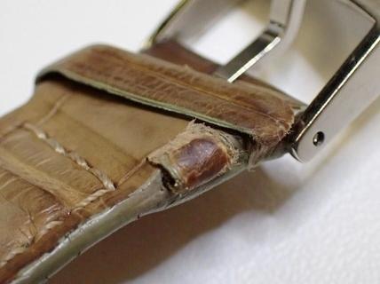 LOUIS VUITTON ルイヴィトン Q1322 タンブール クロノグラフ 腕時計 レディース 正規品 稼働品_画像7