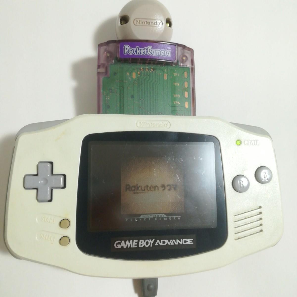 動作確認済 ゲームボーイ ポケットカメラ パープル 紫 クリア Nintendo 任天堂 レトロゲーム