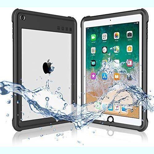 新品 即決!iPad 2017/2018 防水ケース 9.7インチ ipadカバー2018 IP68 防水規格 軽量 薄型 耐衝撃_画像1