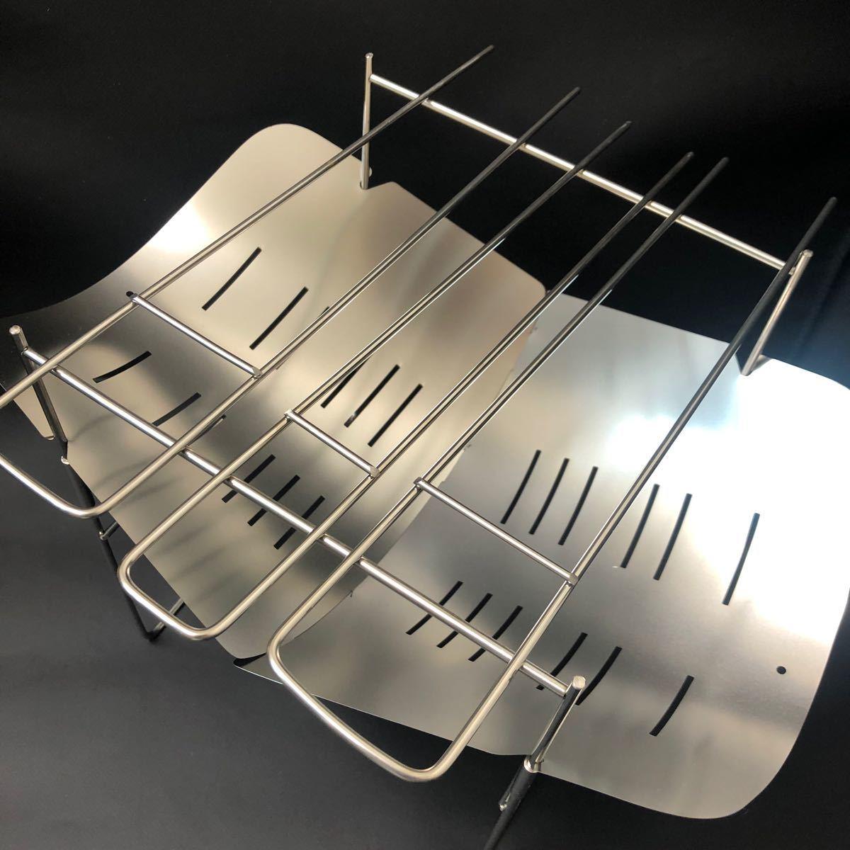 焚き火台 折り畳み式 お得セット付き バーベキューコンロ スピット3本付き