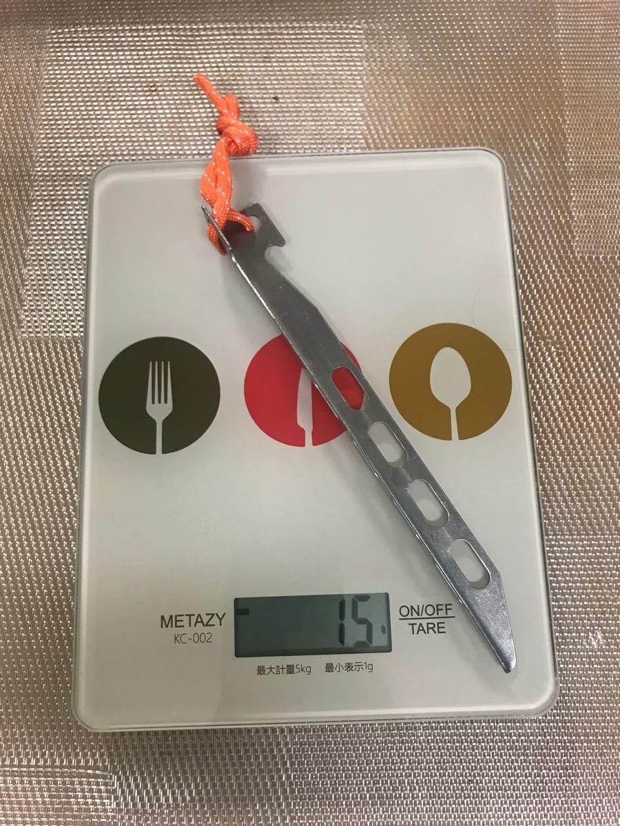 チタン製ペグ 10本セット