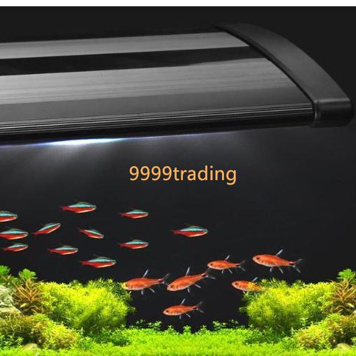 アクアライト 白+青 30~45cm対応 水槽用LED 45球 アクアリウム 熱帯魚 観賞魚飼育用 水草育成 簡単設置 格安 即納_画像4