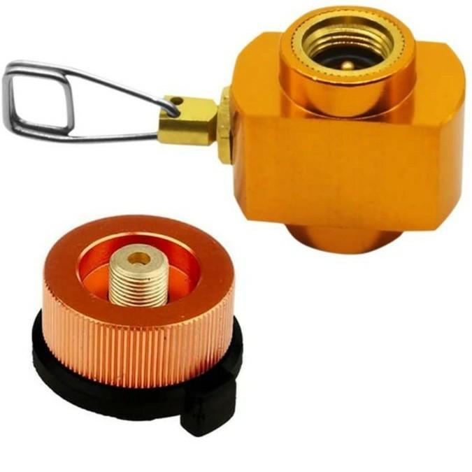 SRECNO cb缶 od缶 アダプター ガス変換アダプター ガス詰め替えアダプター