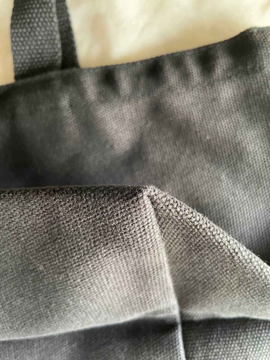 黒 ディーンアンドデルーカ S トートバッグ バッグ ブラック ディーン&デルーカ DEAN&DELUCA 美品 エコバッグ