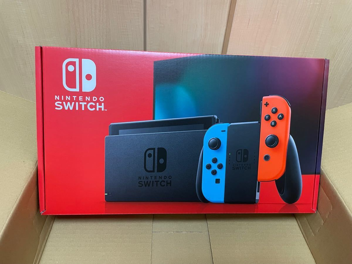 Nintendo Switch 本体Joy-Con(L) ブルー/(R) レッド 2台セット