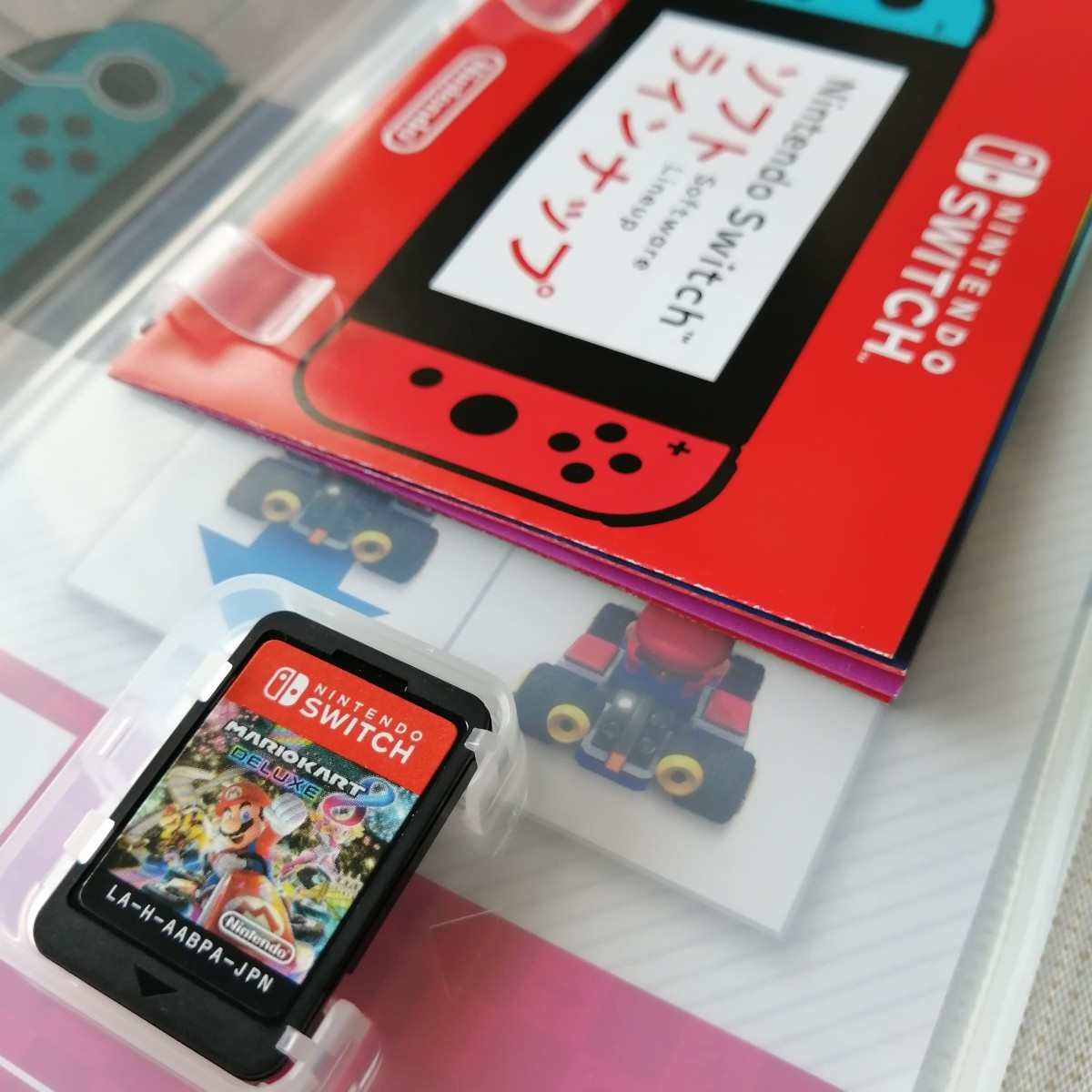 美品 Nintendo Switch スイッチソフト マリオカート8デラックス 任天堂Switch  パッケージ版
