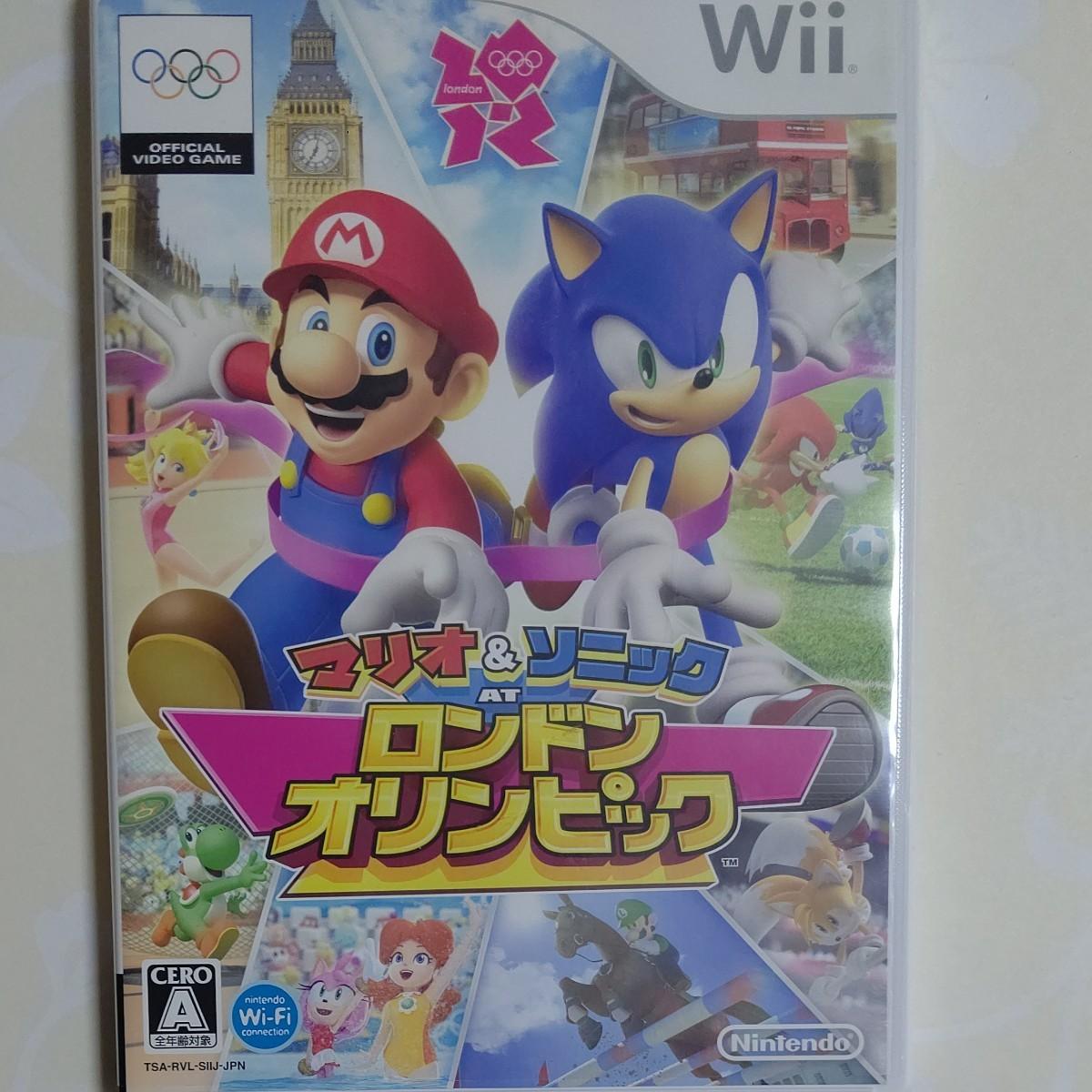 Wii  マリオ&ソニック ロンドンオリンピック