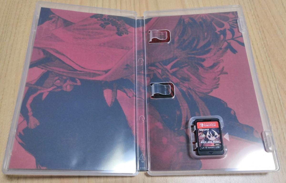 【Switch】 天穂のサクナヒメ ニンテンドースイッチソフト 中古美品