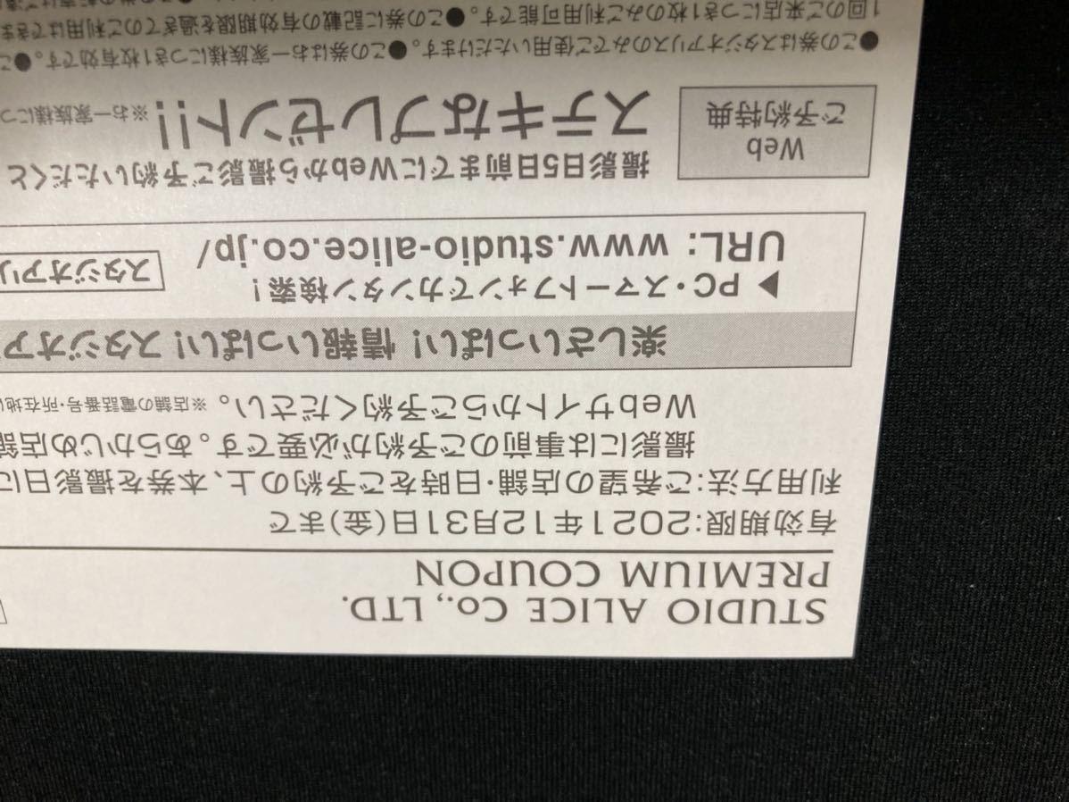 スタジオアリス 全店共通 撮影ご優待券_画像2