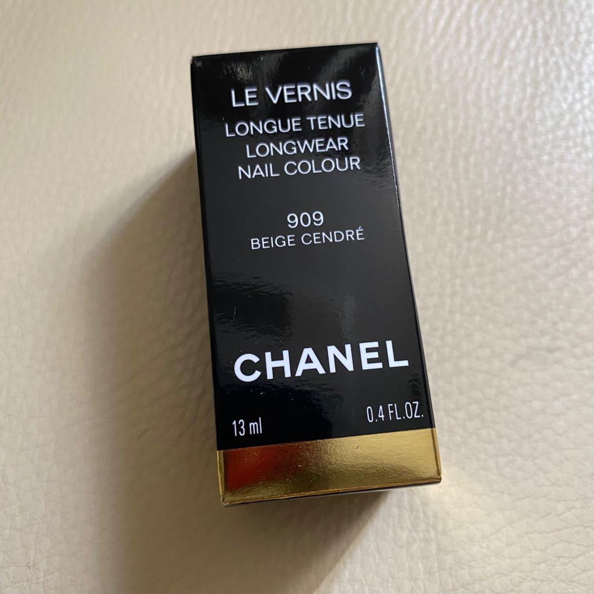 シャネル CHANEL ヴェルニロングトゥニュ 909 - ベージュ サンドレ 国内正規品 限定
