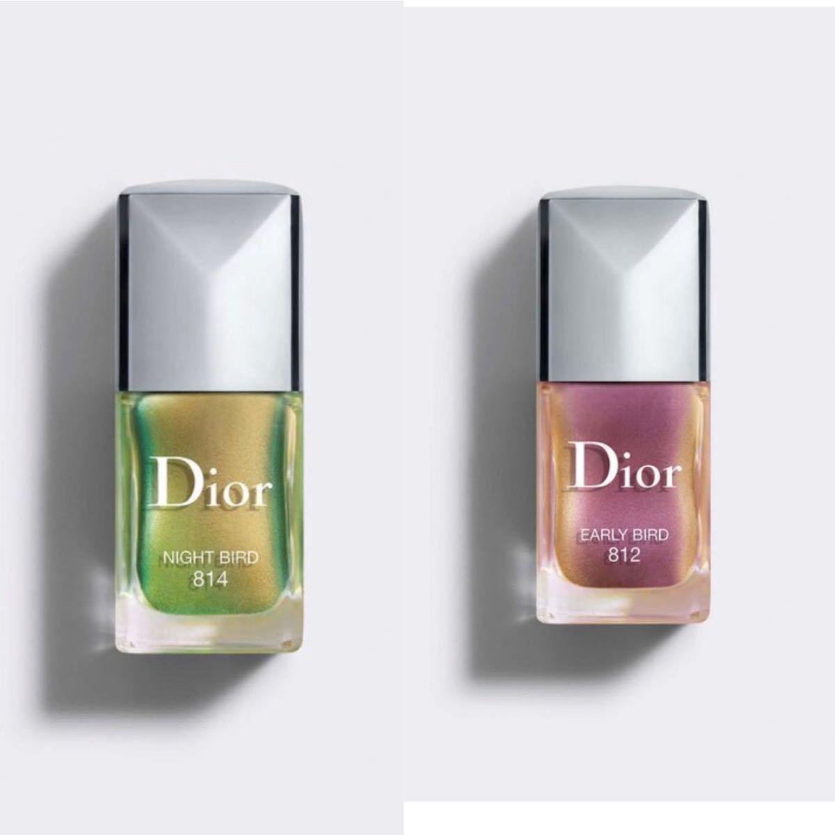 Dior ディオール ヴェルニ バーズ オブ ア フェザーフォール コレクション 2021 数量限定色 814 812