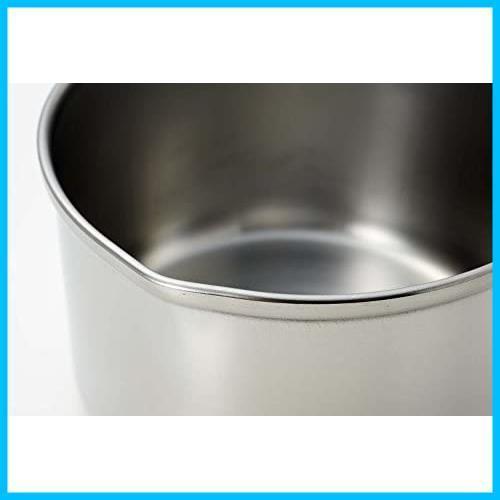 新品パール金属 ミルクパン 13cm IH対応 ステンレス デイズキッチン 日本製 H-5171QQXU_画像3