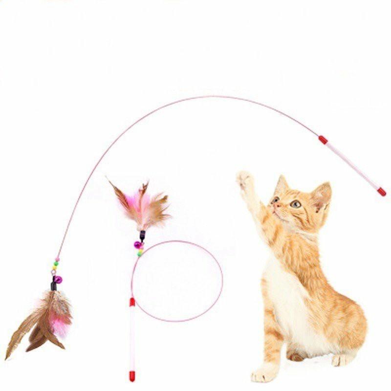 猫おもちゃ 猫じゃらし  ペット用品 猫用 猫グッズ   運動不足解消 猫遊び