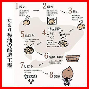 半田の旨味家 小麦を使わない 国産丸大豆 たまりしょうゆ 360ml グルテンフリー 小麦不使用 単品 化学調味料無添加_画像6