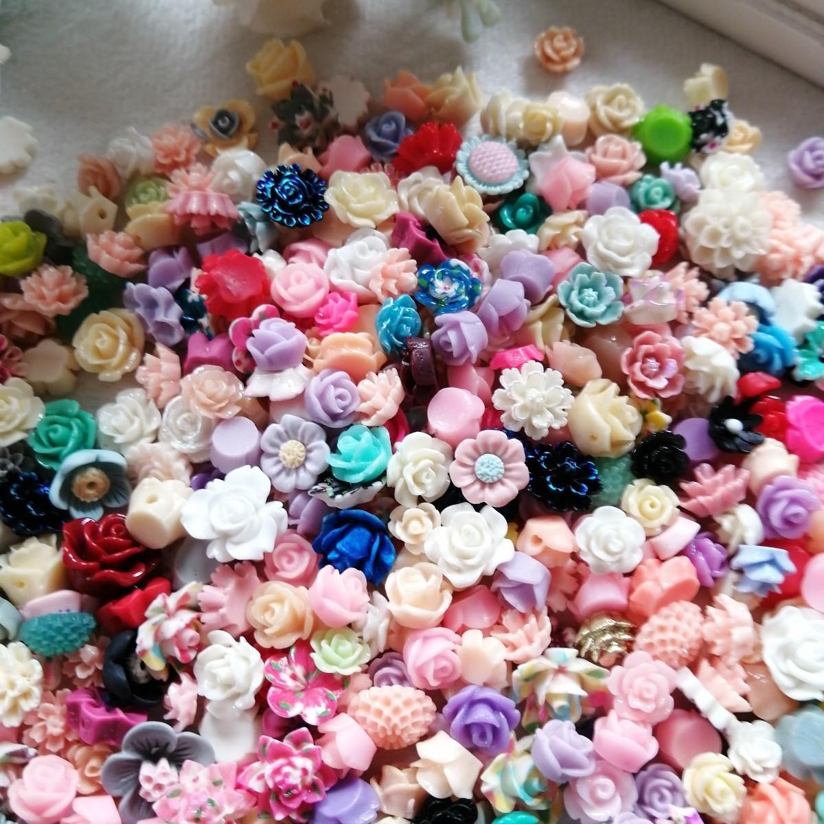デコパーツ プラパーツ ハンドメイド  材料 手作り パーツ バラ 薔薇 30