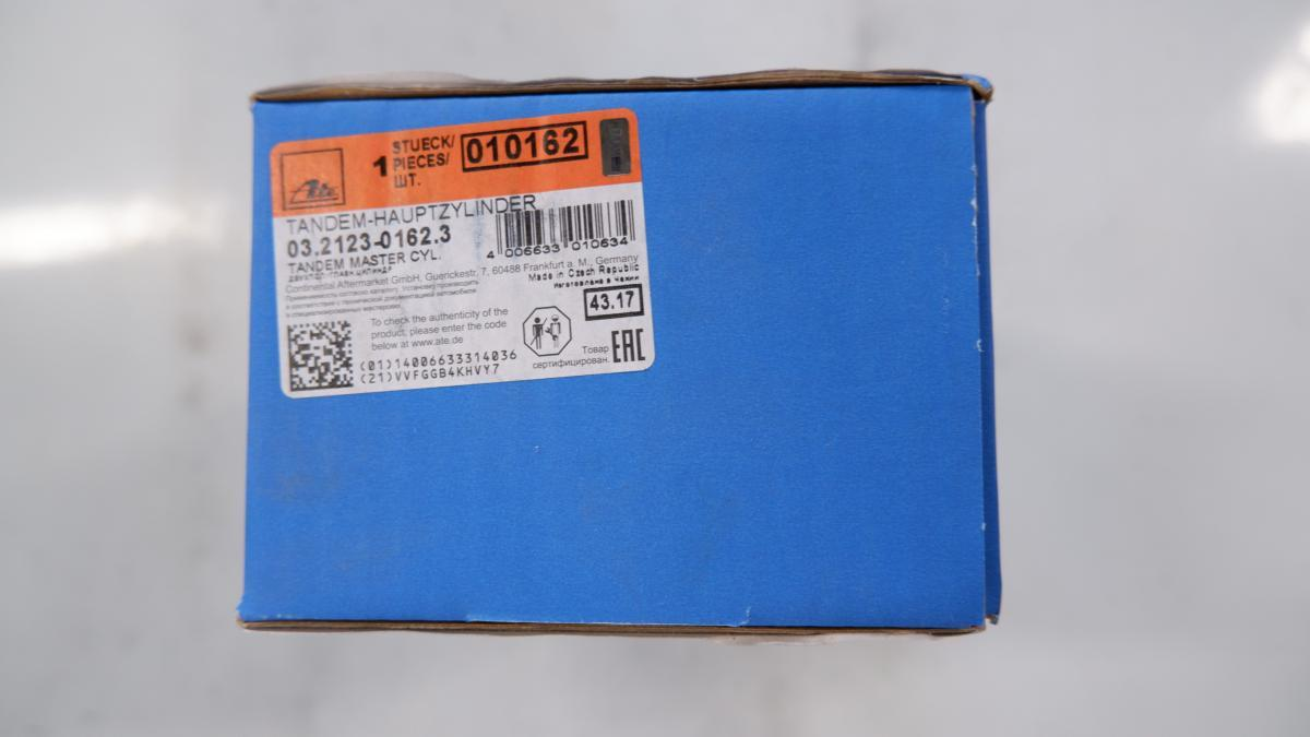 ATEa-te brake master cylinder Porsche PORSCHE 911 3.2 SC Carrera 93035501101 010162 03.2123-0162.3