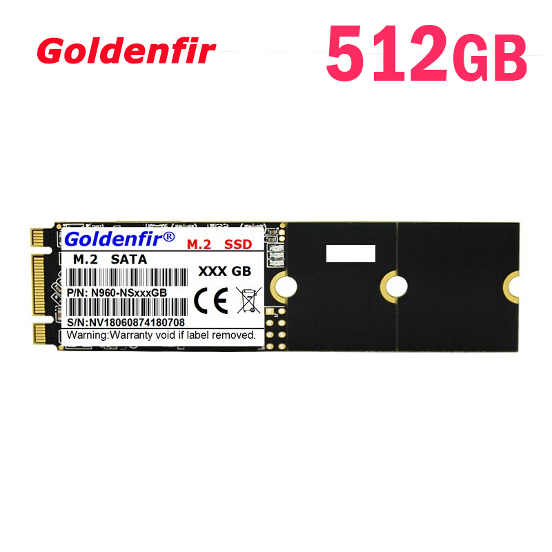 SSD Goldenfir M.2▲512GB 2280 新品未開封 高速 SATA3 TLC 3D NAND 内蔵 デスクトップ ノートPC_画像1