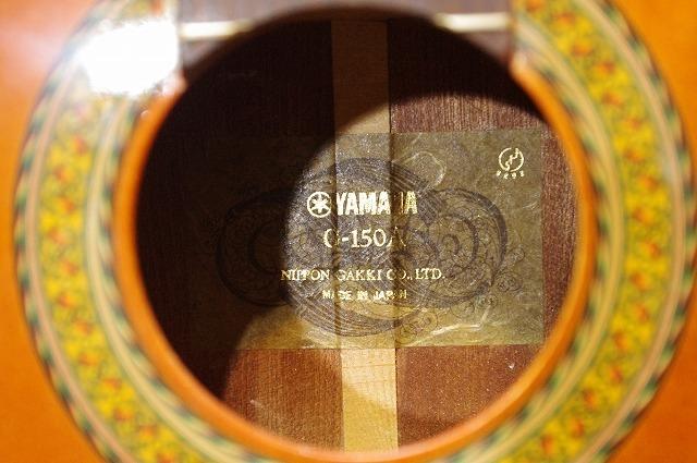 ☆YAMAHA ヤマハ G-150A クラシックギター 現状・ジャンク特価! g0j207_画像5