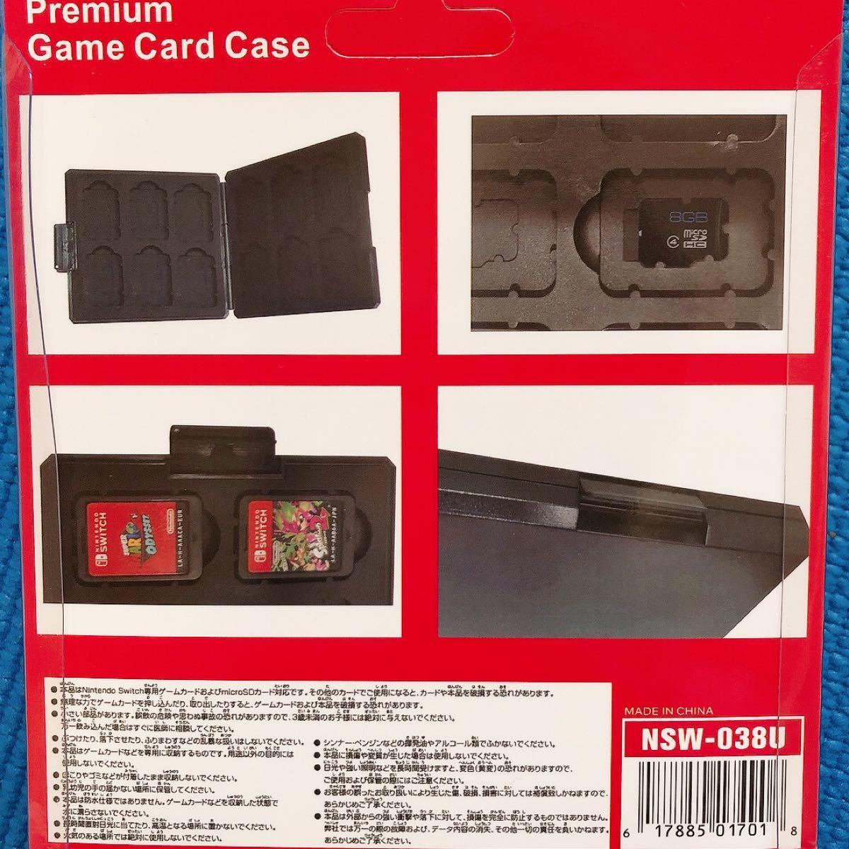 switch カードケース マインクラフト クリーパー カード収納