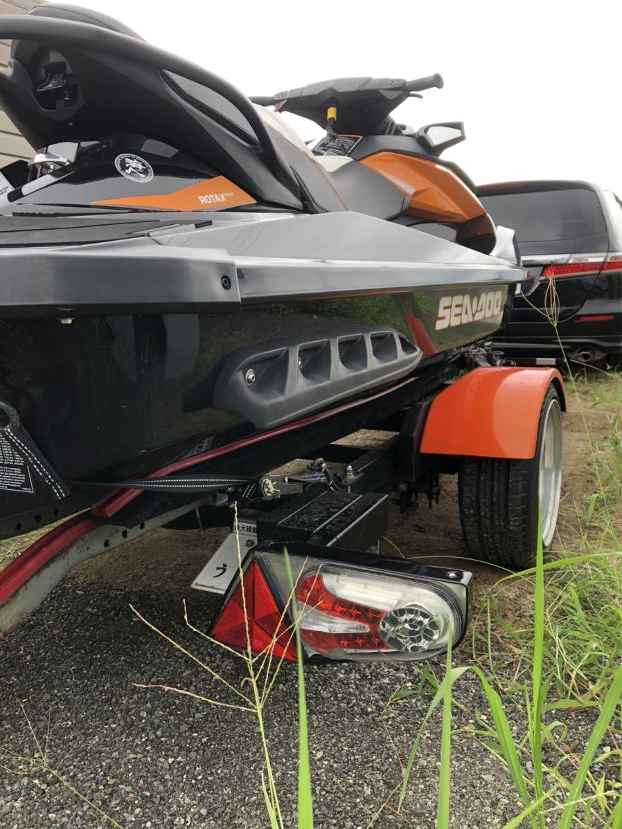 「SEADOO GTR215 低アワー トレーラー付き」の画像3
