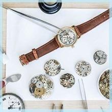 値下げ♪限定ブラック2 腕時計 修理ツール セットJTENG 時計修理工具 時計修理 電池交換 ベルト サイズ調整 ミニ精密ドラ_画像7