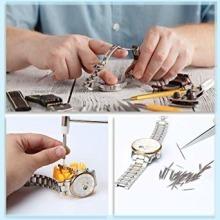 値下げ♪限定E?Durable 腕時計工具 腕時計修理工具セット 電池交換 ベルト交換 バンドサイズ調整 時計修理_画像8
