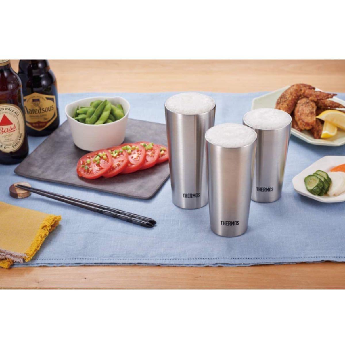 サーモス 真空断熱タンブラー 300ml ステンレス 4個セット コップ グラス