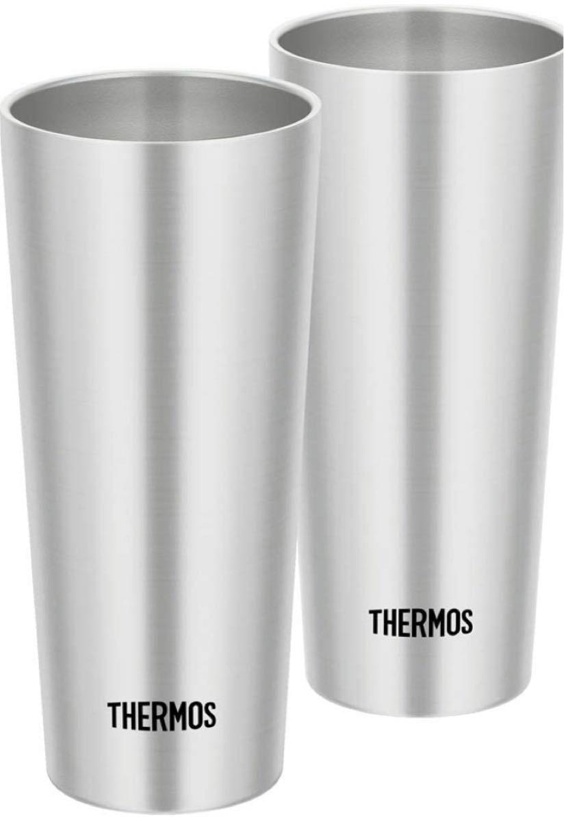 サーモス 真空断熱タンブラー 400ml 2本セット ステンレス