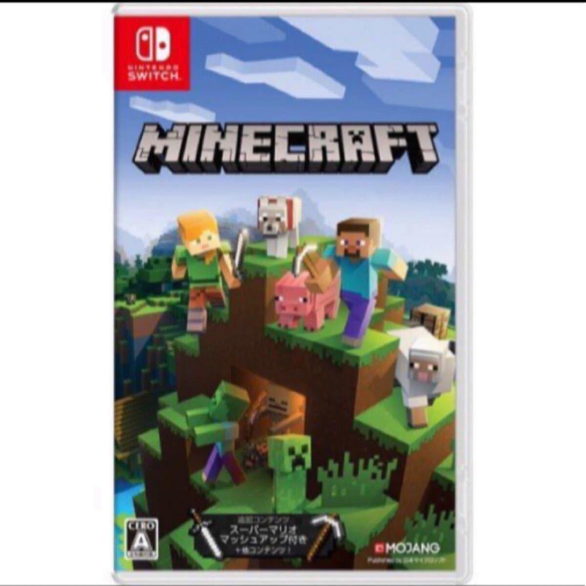 新品未開封です!マインクラフトMinecraft Nintendo Switch版 HAC-P-AEUCA