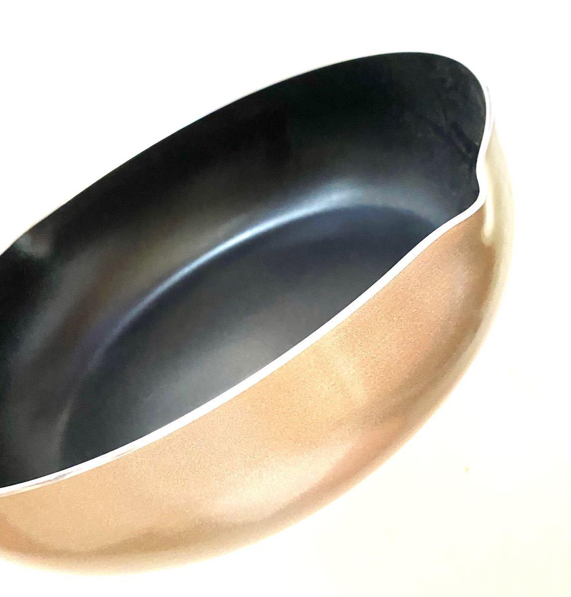 ストリックスデザイン 2層フッ素樹脂塗膜加工+内面二層コーティングIH対応 超軽量 深型両口フライパン 28cm UF-082新品